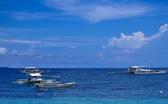 Genesis Divers, Bohol Philippines (jon.noj) Tags: travel blue sea sky beach boat interestingness asia philippines explore bohol fp frontpage 2009 hmb panglaoisland mondayblues interestingness166 interestingness153 jonnoj genesisdivers happybluemonday jonbinalay