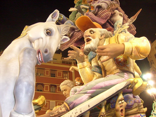 Las Fallas Valencia Spain