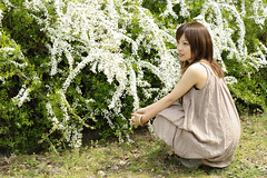 Mar. 29th,2009 ERI at the Teru's Photo Studio's Photo Session in Hiroshima-018 (KataJapan) Tags: portrait woman flower lady garden botanical hiroshima 花 ポートレート 広島 植物公園