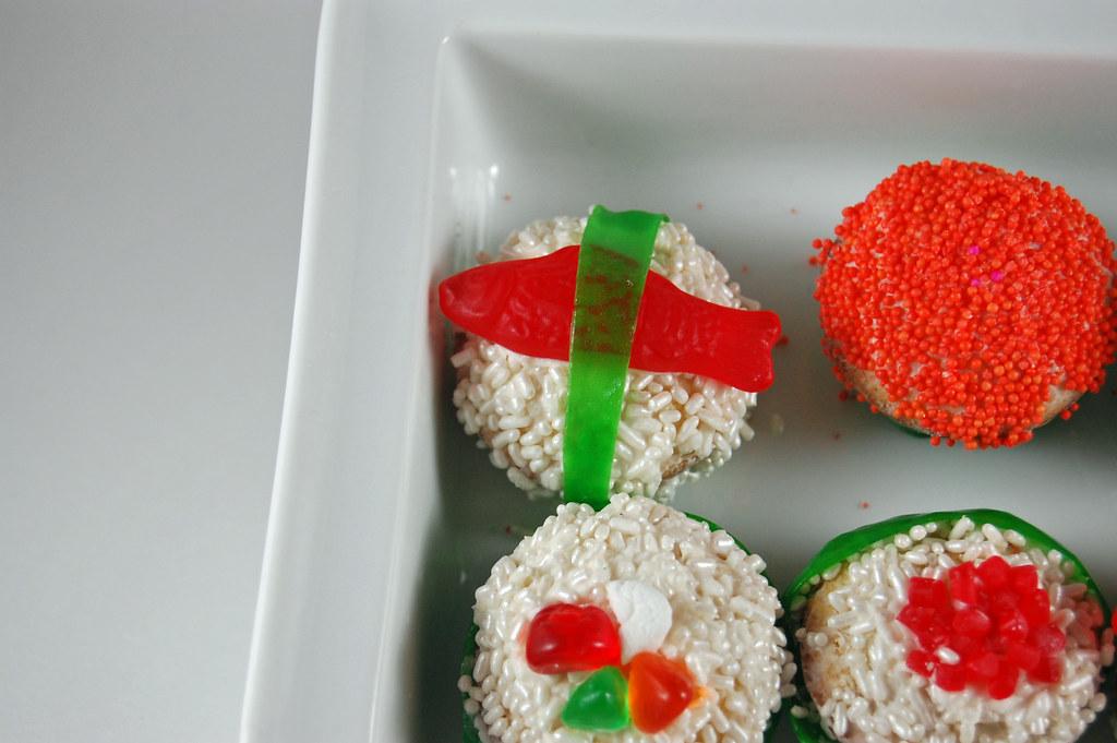 Sushi Cupcakes 07