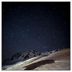 How many stars (Frederic-JG) Tags: light sky snow ski france night stars nightshot resort montain lamongie colorphotoaward fredericjg fredericblanque fredericjgcom