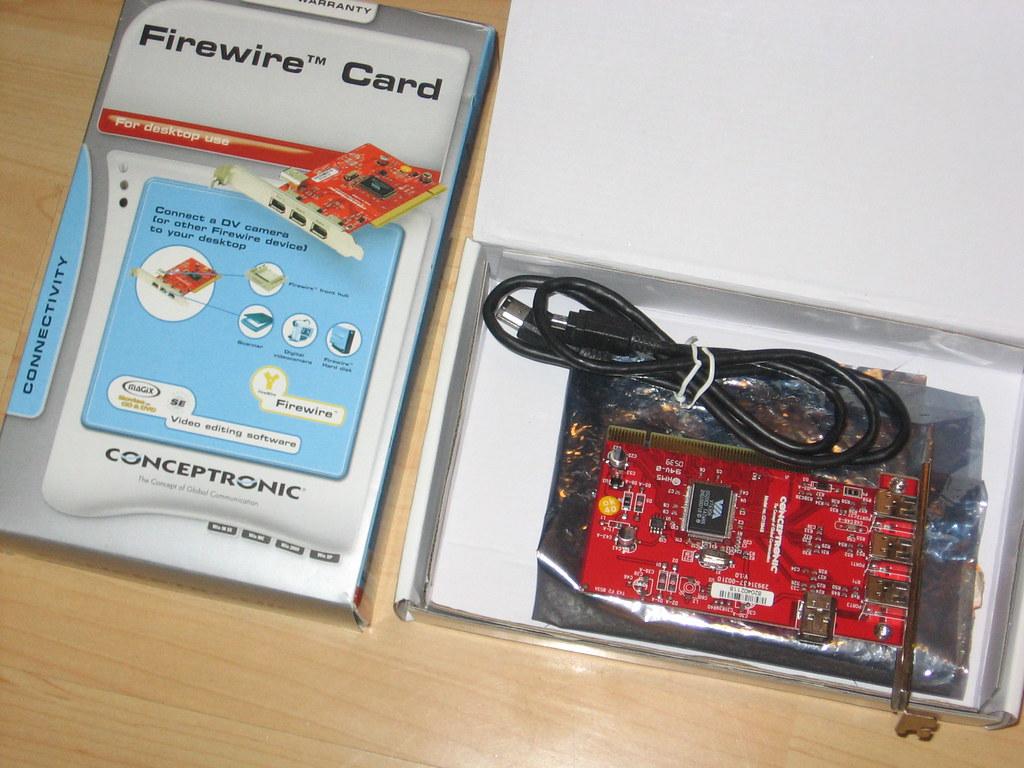 Conceptronic Firewire Card