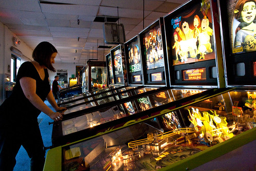 At the Pinball Hall of Fame