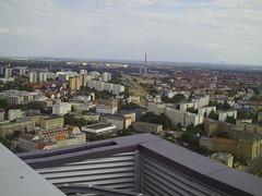 Leipzig von Oben 2 (Repedo) Tags: panorama tower leipzig mdr hochhaus uniriese dachterrasse