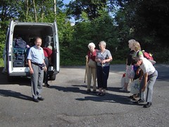 Assembling with minibus