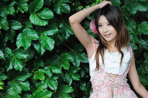 [フリー画像] 人物, 女性, アジア女性, 台湾人, 201005030300