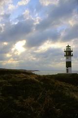 Faro Isla Pancha (Constantino M. Aniceto) Tags: espaa faro galicia canonae1 lugo diapositiva ribadeo islapancha