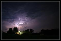 Lightning Over Hallam PA (Steve Maciejewski) Tags: york storm weather clouds pennsylvania pa bolts thunderstorm lightning hallam