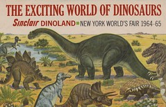 The Exciting World of Dinosaurs - 1964-65 New York World's Fair (The Pie Shops Collection) Tags: newyork vintage brochure dinosaurs worldsfair sinclair 1964 1965 dinoland