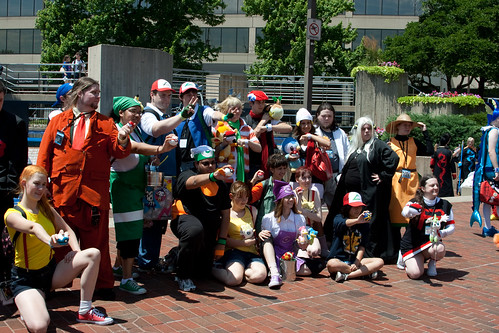 A Bunch of Pokemon Trainers