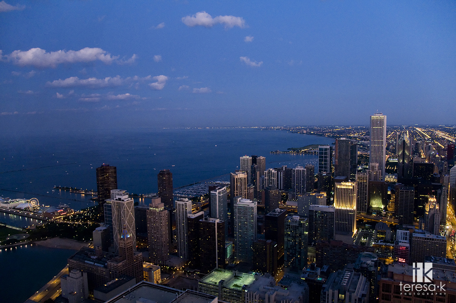 Chicago Illinois skyline by Teresa Klostermann of Teresa K photography