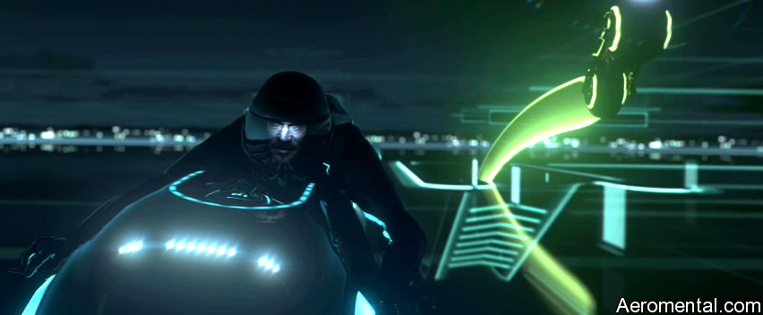 TRON legacy lightcycles