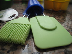 Brush and spatula