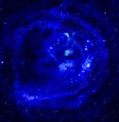 лик Небесного Гагарина в космосе