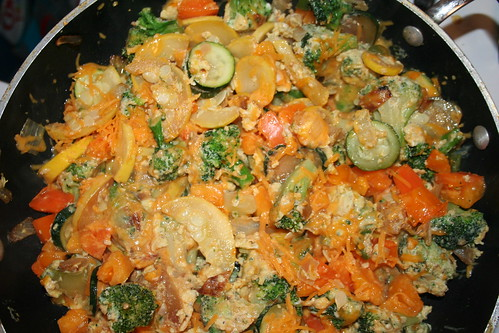 Veggie Scramble - finished