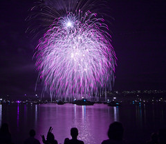 United Kingdom fireworks at the celebration of light. (Eyesplash - There is a change in the air.) Tags: uk water fireworks unitedkingdom competition englishbay float barge anawesomeshot copyrightedeyesplash2009 celebrationoflight2009 hnhchpphohoapngxem