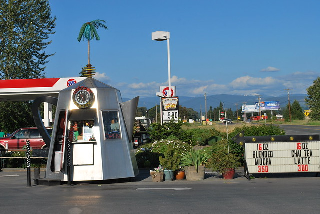 Coffe Shop Shaped Like a Coffee Pot: Washington State II