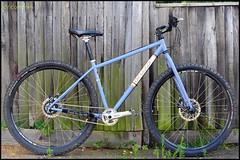 Singular Swift (LordOnOne) Tags: mountain bike bicycle hub speed demo for cycling head wheels 8 gear surrey hills cycle biking mtb swift dorking 29er internal singular shimano the rigid 29r igh alfine 8spd 29in