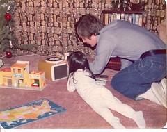 Dad and me Christmas