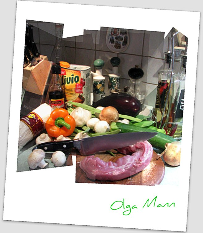 Asia Motiv Küche