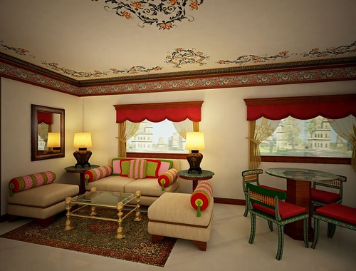 The Maharaja's Express (India) from Luxury Train Club and Train Chartering - Presidential Saloon