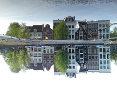 Reflections Of Amsterdam - Panorama I (AmsterSam - The Wicked Reflectah) Tags: summer holland reflection water netherlands amsterdam canal europe wicked nophotoshop lifeisgood 2009 amstel carpediem unedited waterreflections stadsarchief mobilephonecam amstersam reflectah amsterdamthebestcityintheworld reflectionsofamsterdam checkoutmywebsitewwwamstersamcom wickedreflections puddlepictures c905 c905sonyericssonmobilephonecam c905sonyericsson thewickedreflectah amstersmthewickedreflectah