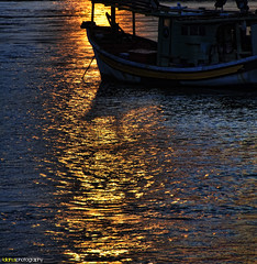 Good morning monday... (Sasuhai) Tags: reflection sunrise river boat nikon hdr perahu terengganu marang traditionalboat d90 photomatix tradisi sasuhai idiahusphotography