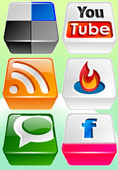 Web 2.0 icons pic (pic from Flickr user by Link576, on Flickr