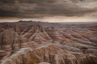 View of the Badlands