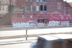 Horne/ Soln/ Toes/ Elbo/ Gyer/ Sym (Knucklehead01) Tags: boston fire graffiti 1 tag extinguisher yk yack sym horne gier elbo ykw gyer