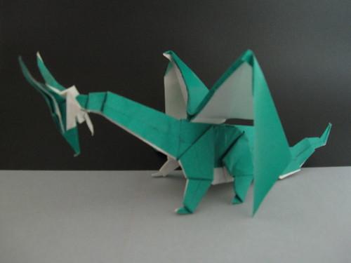 Origami Dragon 3939705877_feb61f340f