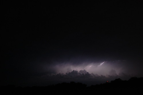 lightning over Red Oak, Texas