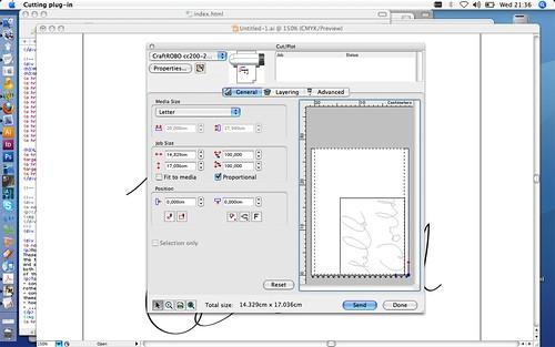 Using Cutting Master 2 on Mac OSX with Illustrator 10/CS/CS2