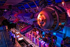 Space Mountain - Ready for Liftoff (Matt Pasant) Tags: california family vacation kids canon personal disneyland indoor disney mickey orangecounty anaheim waltdisneyworld dlr canonef2470mmf28lusm waltdisney disneytransportation imagetype photospecs canoneos5dmarkii canon5dmkii