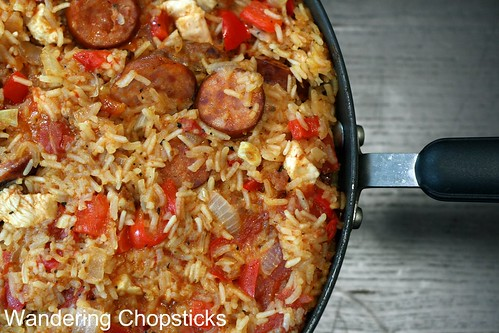 Creole Red Jambalaya with Chicken and Sausage 2