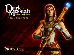 Priestess wallpaper for Dark Messiah of Might and Magic