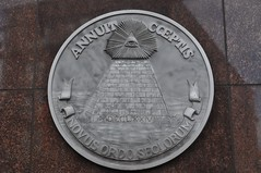 Annuit CCeptis at Courthouse (King Kong 911) Tags: world new eye mississippi coin order tn nashville pyramid god tennessee alabama historic providence seal courthouse markers 1776 approves annuit cceptis annuitcceptisatcourthouse