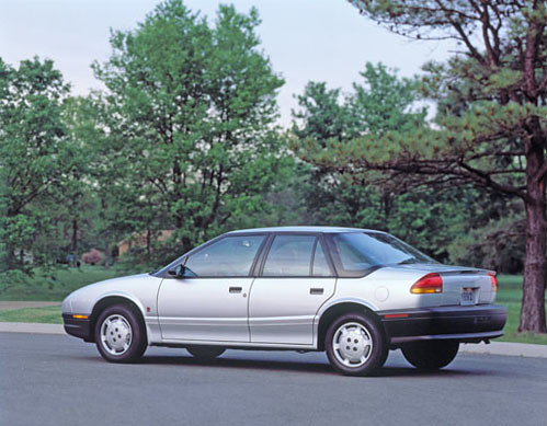 Coupe · 1991 Saturn SL1 Sedan