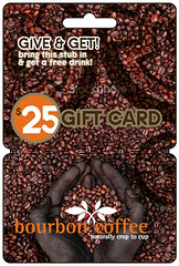 Bourbon Coffee Gift Card