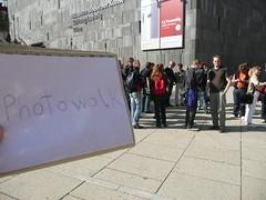 Photowalk Vienna Getin Workshop, die ersten versammeln sich