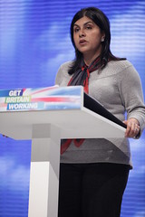 Sayeeda Warsi at Conservative Party Conference