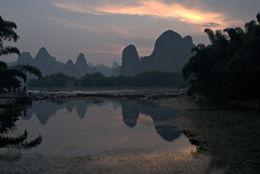 Xing Ping Sunset [] (daveonhols) Tags: china liriver   guangxi  xingping