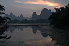 Xing Ping Sunset [] (daveonhols) Tags: china liriver   guangxi  xingping