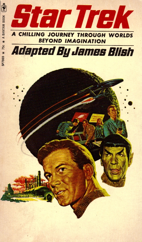 book StarTrek Adapted By James Blish