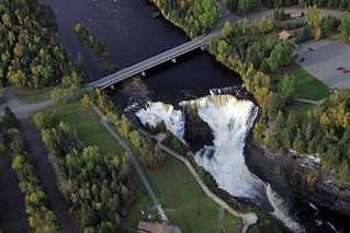Kakabeka Falls - Aerial View