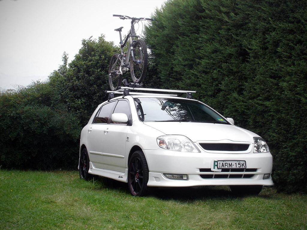 Zre Screw On Permanent Roof Rails Corolla Corolla