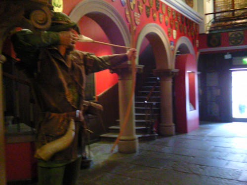 Robin Hood at Galleries of Justice Nottingham