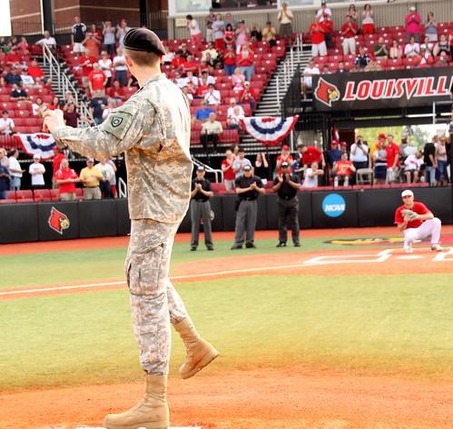 University of Louisville Baseball Military Appreciation Day