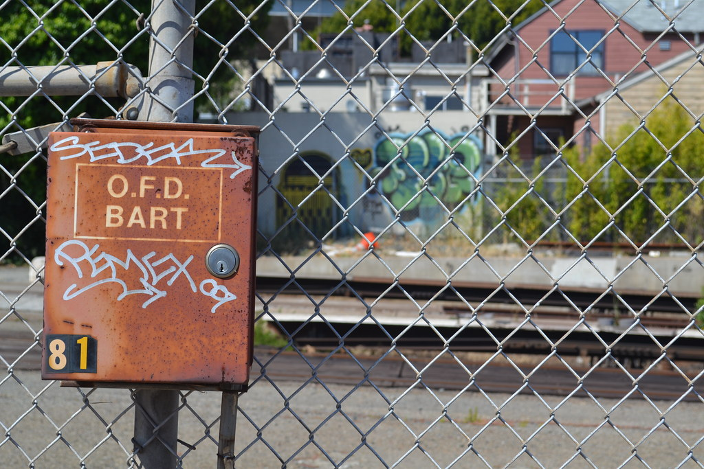 PEMEX, SEDEK, RODI, FIVE, LOLC, STM, Graffiti, Oakland, Street Art,