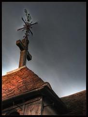 IMG_4945_b St Helen's Weathervane I (busb) Tags: uk roof england church cross weathervane oxfordshire sthelens oxon tonemapped 1xp berricksalome hotomatix tonemappedsinglejpg